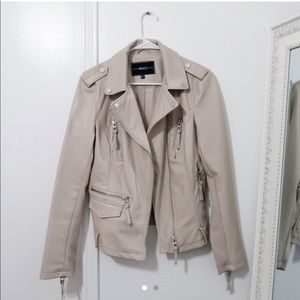 *NEW* BNCI Nude Faux Leather Jacket
